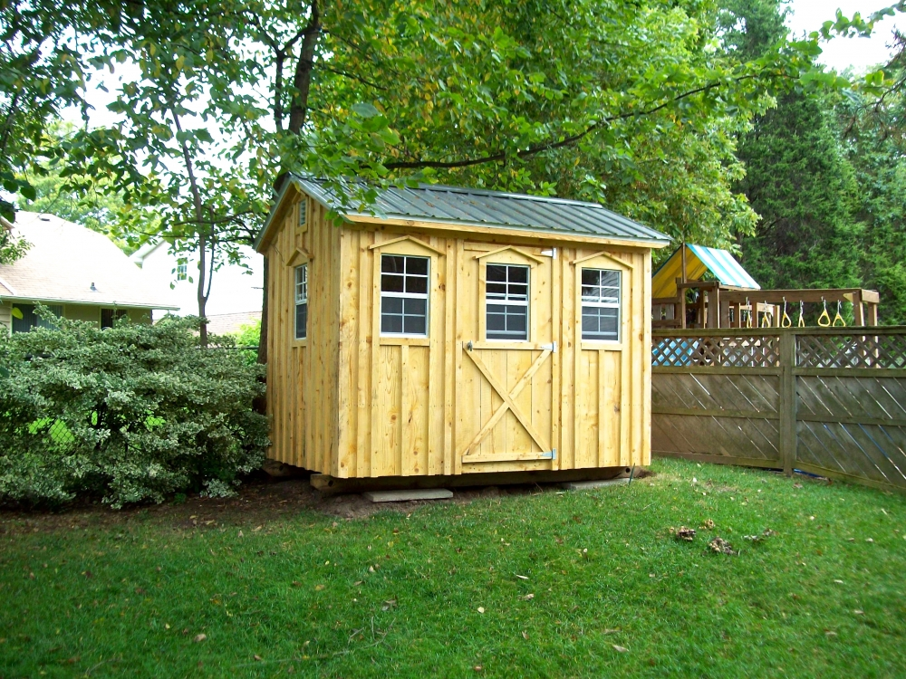 Amish Shed Cabin Wood
