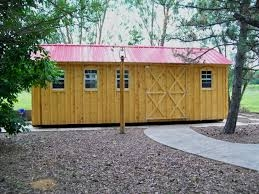 Outdoor Wood Shed